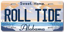 Sweet Home Alabama ROLL TIDE NCAA  SEC Football Team Vanity License Plate Tag A