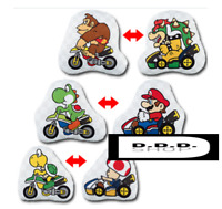Banpresto ichibankuji Mario Kart A prize Mario Kart cushion 3 set reversible