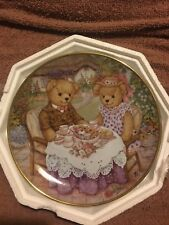 """Franklin Mint Heirloom """"Tea For Two"""" Decorative Plate - by Patricia Brooks"""