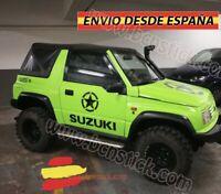 Kit Laterales Adhesivas Estrellas Militar Decal Vinilos Coche 4x4 Suzuki Univers