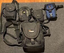 Camera Bag Lot (5 Cases: Lowepro, Tamrac, Case Logic)