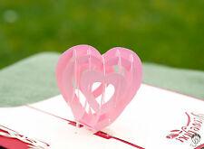 handmade 3d pop up valentine cards wedding cards anniversary cards