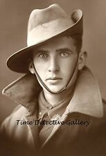 Australian Soldier of the 1st AIFID - WWI - 1916 - Historic Photo Print