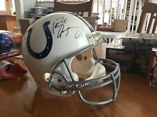 Peyton Manning Full Size Helmet Indianapolis Colts HOF All Time Great