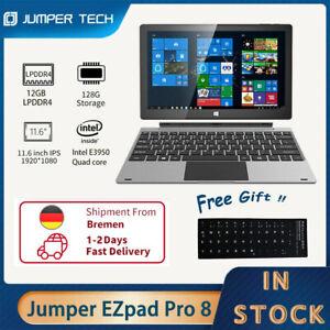 Jumper EZpad Pro 8 Tablet PC 2 in 1 11,6 Zoll IPS Quad Core 12GB DDR 128GB emmc