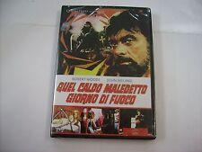 QUEL CALDO MALEDETTO GIORNO DI FUOCO - DVD SIGILLATO - ROBERT WOODS