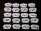 GM G-Body Windshield & Rear Window Trim Molding Clips- 1978-1988- 20 pcs- #023
