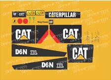 Caterpillar D6N XL Dozer Decal / Adhesive / Sticker Complete Set