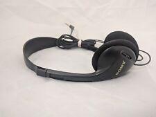 Vintage Sony Original Black Wired Stereo Headphones Mdr-023