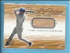 2000 Upper Deck Game Used TODD HUNDLEY dodgers  # THu