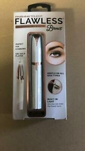 JML Finishing Touch Flawless Brows Trimmer - Rose Gold