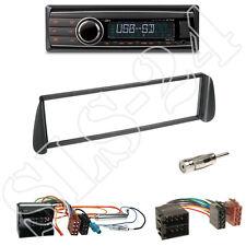 Caliber rmd212 radio + citroen picasso/xsara 1-din diafragma negro + ISO-adaptador set