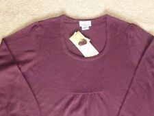 OH,BABY MOTHERHOOD MATERNITY WOMENS NWT RIBBED FRONT LS SWEATER--XL--SHIPS FREE