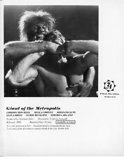 THE GIANT OF METROPOLIS original lobby publicity still photo GORDON MITCHELL