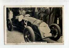 (Ls362-317) Sporting Events and Stars, Motor Racing, Freddie Dixon #67, 1935