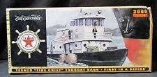 2000 Millennium Edition Texaco Fire Chief Tugboat Bank- 1st in Series - ERTL NIB