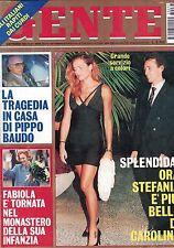 1993 09 06 - GENTE - N.37 - ANNO XXXVII - 06 09 1993 - STEFANIA DI MONACO