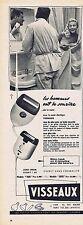 PUBLICITE ADVERTISING 015 1956 VISSEAUX rasoirs électriques