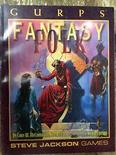 Gurps Fantasy Folk Second Edition Steve Jackson Games New