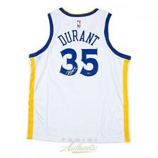 KEVIN DURANT Autographed Golden State Warriors Nike White Jersey PANINI