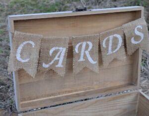 """Cards"" Banner for Wedding, Shower, etc. - Brand New"