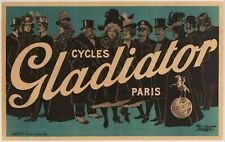 Original Poster - Paolo Henri - Cycles Gladiator - Paris - Bicycle - Polo - 1900
