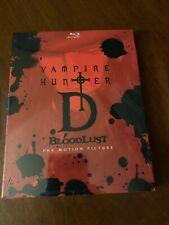 Vampire Hunter D Bloodlust Blu Ray Discotek Official Release