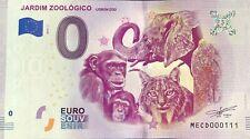 BILLET 0 EURO JARDIM ZOOLOGICO LISBON ZOO PORTUGAL  2019-2  NUMERO  111