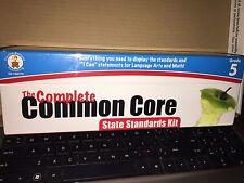 Carson-Dellosa Complete Common Core State Standard Kit, Grade 5 NEW SEALED