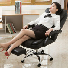 Gaming Chair Ergonomic Recliner Office Computer Desk Chair Swivel Withfootrest