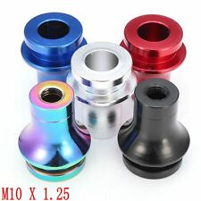 M10X1.25 Low Profile Manual Gear Shifter Lever Shift Knob Boot Retainer Adapter