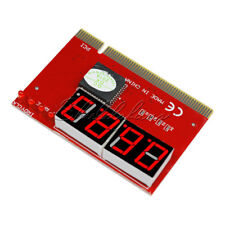 New PC Motherboard LED 4 Digit Analysis Diagnostic Test POST Card PCI