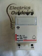 LEGRAND 8V 1A 12V 0,66 una porta campana HOME Transformer GUIDA DIN 230V 04225