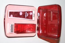 Vintage Lady Remington Pink and RED Electric Shaver Razor with Case 2M2L