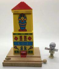 BRIO Wooden Railway Egypt Egyptian Mummy Tower Figure Train Set Destination