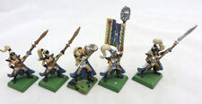Warhammer High Elves Everqueen Maiden Guard OOP metal command inc