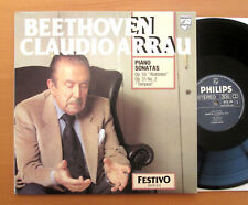Philips 6570 190 Beethoven Waldstein Tempest Claudio Arrau 1967 NEAR MINT Stereo