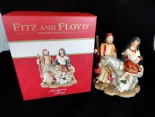Fitz And Floyd Christmas Holiday The Journey O Holy Night Musical Music Figurine