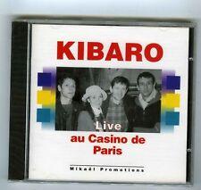 KIBARO CD (NEUF) LIVE AU CASINO DE PARIS