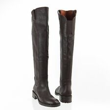 Women's Shoes Enzo Angiolini Holdyn Knee High Boots Dark Brown Sz 5 M NEW $229