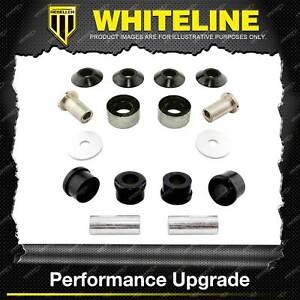 Whiteline Fr Control Arm Lower Bush Kit 0.5deg for Subaru Legacy Liberty BL BP