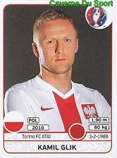 295 KAMIL GLIK POLSKA POLAND TORINO.FC STICKER EURO 2016 PANINI