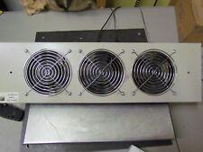 New RITTAL 9962081 -Fan tray insert 3 fans 115 VAC, .60 Amp