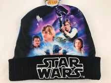 Star Wars Darth Vader Luke Leia Han Yoda At-at Lando ONE SIZE hat beanie cap