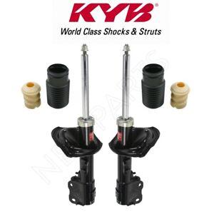 Front and Rear Upper Suspension Strut Mounts Kit KYB For Mitsubishi Lancer 08-10