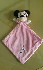 Doudou Disney baby nicotoy Minnie plat Rose Pois Coccinelle papillon
