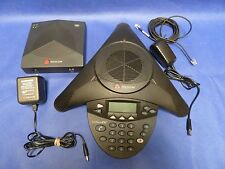 Polycom SoundStation 2W w/ Base and AC Adapters SS2W TEST WORKING! 14 Days Warra