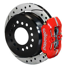 """Wilwood 140-11403-DR Mustang Rear Disc Brake Kit With 11"""" Drilled/Slotted Rotors"""