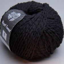 Lana Grossa Royal Tweed 020 schwarz 50g Wolle (11.90 EUR pro 100 g)