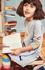 NEW! Mini Boden Roald Dahl Matilda Alphabet Dress 7-8